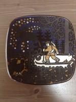 Régi finn ARABIA porcelán fali tányér