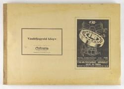 0T226 Malomipari Vámfeljegyzési könyv 1944