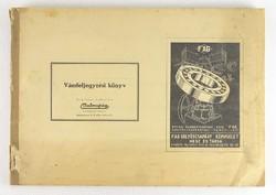 0T225 Malomipari Vámfeljegyzési könyv 1944