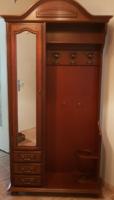 Toskan stilusú mahagoni előszoba gardrob 100x214x40cm
