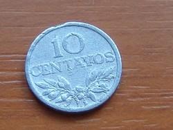 PORTUGÁLIA 10 CENTAVOS 1971  ALU.