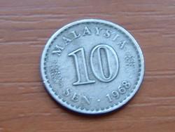 MALAYSIA 10 SEN 1968 PARLAMENT