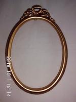 Ovális,képkeret,tükörkeret 18x23.5 cm