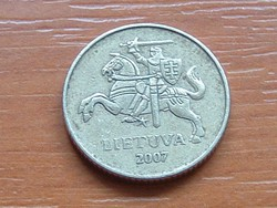 LITVÁNIA 10 CENTU 2007