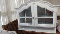 Vintage vitrines szekrény