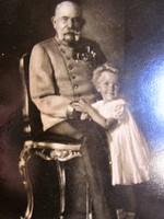 FERENC JÓZSEF KUK CSÁSZÁR ÉS KIRÁLY HABSBURG JELZETT KÉP FOTÓ KÜLÖMBÖZŐ ÉLETKOR 1916 24 cm