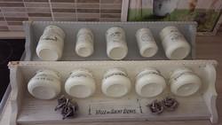 Egyedi fűszertartó polc / dekorációs polc