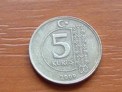 TÖRÖK 5 KURUS 2009