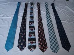 Nyakkendő gyűjtemény nem vagy alig használt Olasz - Angol - Német