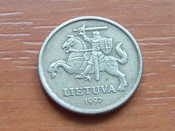 LITVÁNIA 10 CENTU 1997