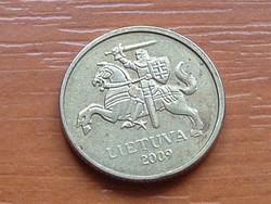 LITVÁNIA 10 CENTU 2009