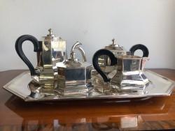 Artdeco Ezüst Teás - Kávés készlet 3000g