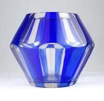 0T284 Formatervezett művészi csiszolt üveg váza