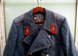 Szovjet generális nagykabát