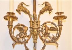 Empire  tűz-aranyozott bronz  falikar 75 x 40 cm