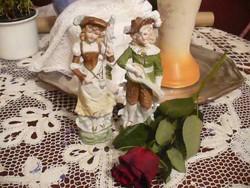 G-DEP német figurális antik páros