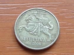 LITVÁNIA 10 CENTU 2008