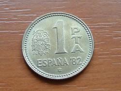 SPANYOL 1 PESETA 1980 (82) FOCI VB '82