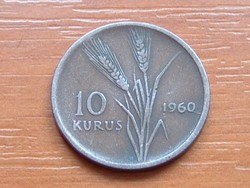 TÖRÖK 10 KURUS 1960