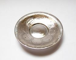 Kisméretű ezüst tálka.
