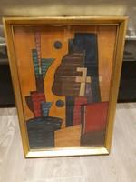 Akvarell festmény KL jelzéssel eladó