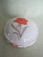 Drasche porcelán szegfűs bonbonier