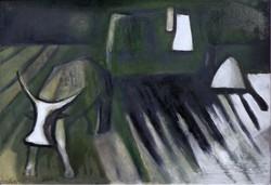 "Bakányi Gyula ( 1955- )  "" Tanyavilág...... """