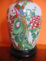 Antik, kínai lámpa (19. század)