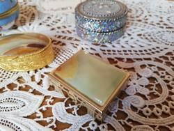 Díszes ékszer dobozkák porcelán és fém