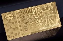 EXTRA  SZÉP ARANY MILLENIUM 2000 FORINT