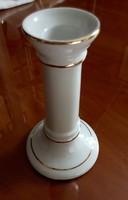 2 db porcelán gyertyatartó 13,5 cm magas