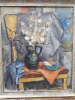 Hegyi György kvalitásos festménye