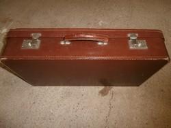 Vintage bőrönd koffer