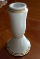 Porcelán gyertyatartó 13,5 cm magas