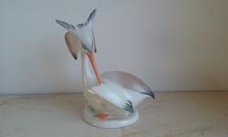 Aquincum porcelán ritka madár