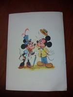 Walt Disney Levelezőlap Borítékkal