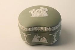 Antik Wedgwood porcelán bonbontartó, bonbonier, doboz