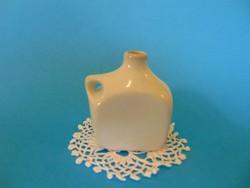 Zsolnay porcelán kulacs, emléktárgy