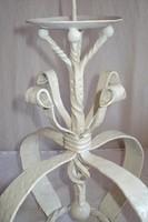 Fém - gyertyatartó hatalmas Korona alakú - öntöttvas - nagy - nehéz - mester által készített egyedi