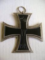 Vaskereszt 1914 Első osztály +1914-es  958 jelzéssel.
