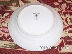 II.Világháborús horogkeresztes porcelán tányér