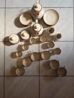 Kávés, teás porcelán készlet
