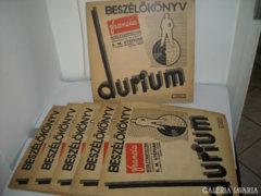 Francia Nyelvtanfolyam1-6,Durium Language Course,30-as évek