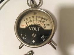 Régi voltmérő műszer 1929
