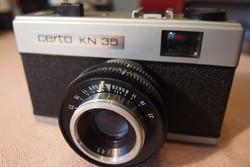 Alig használt Certo KN 35 típusú filmes fényképezőgép