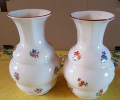Zsolnay váza 2 db, párban ( 1930-körüli jelzéssel)