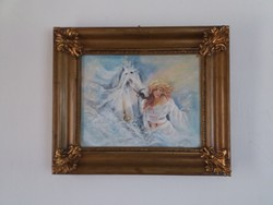 D.Varga E. - Varázslatos álmok ,szép festmény