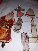 Régi karácsonyfadíszek-litho