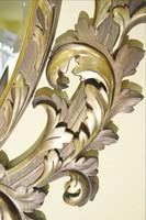 Florentín faragott, aranyozott tükör, nagy méret 155 cm