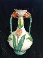Kerámia Tulipános Szeci Váza